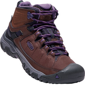 Keen Targhee EXP WP Mid Shoes Women french roast/purple plumeria